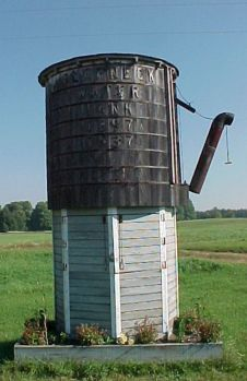 Slapneck Water Tower